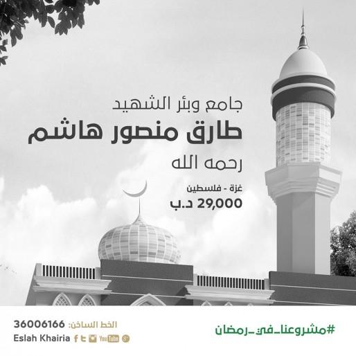 جامع وبئر الشهيد طارق منصور هاشم