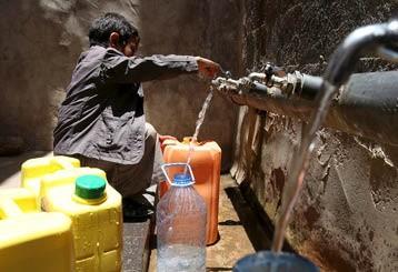 إعادة تأهيل مشروع المياه بحي الكديحة