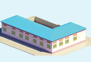 بناء مدرسة  تسع 160 طالب