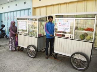 عربة بيع طعام