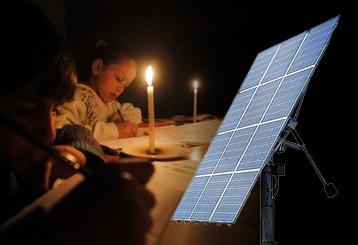 بطاريات الكهرباء الشمسية