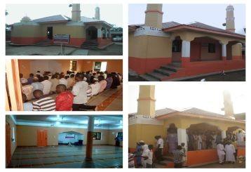 مسجد 100 متر- 166 مصل