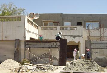 ترميم البيوت القديمة